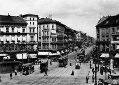 Blick vom Moritzplatz in die Prinzenstraße.. 1903