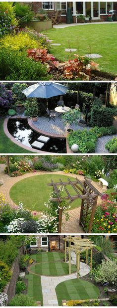 Amazing Front Yard and Backyard Landscaping Designs and Ideas - Landscaping. Best Inspiring Gardens images. #Landscaping #garden #Home