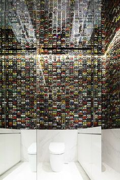 Novoceram - Google+ | Wall, miniature car, mirrors | intersect by  lexus tokyo Japan | TOYOTA | bathroom.