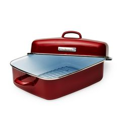 Rectangular Braiser With Lid Wayfair Roaster Pan Land Fransk Och Lantstil
