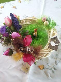 jarní - velikonoční věnec moje práce