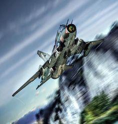 Airplane Art, Aviation Art, Aircraft, Sci Fi, Iron, Planes, Aviation, Science Fiction, Airplane