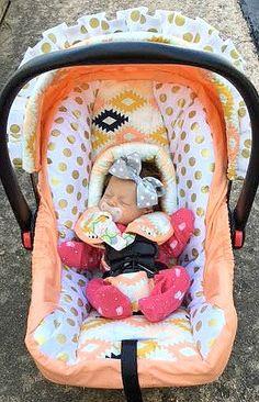 Custom Car Seat Cover, 4 PC Set Baby Car Seat Covers, Deer Custom ...