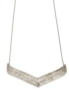 Sterling Silver Chevron Necklace, Grecian Necklace. Greek Goddess Silver Necklace. V Necklace. Gift for mom