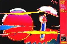 New Moon  © Peter Max - 1999
