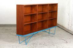 Vintage Modernist Book cabinet 1950s, Willy Van der Meeren