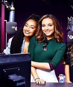 "loveforleigh: ""Leigh-Anne and Jade at Radio 1 - 17/10 """