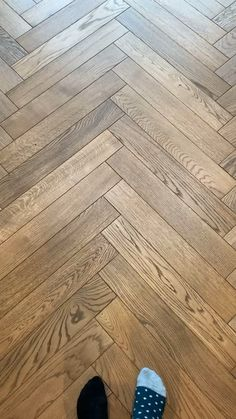 Our beautiful smoked herringbone flooring is being laid and I couldn't be happier with how it's looking so far! Herringbone Laminate Flooring, Herringbone Wood Floor, Wood Tile Floors, Plank Flooring, Herringbone Pattern, Wooden Flooring, Kitchen Flooring, Hardwood Floors, Parkay Flooring