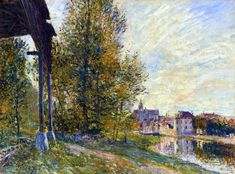 Avenue of Chestnut Trees near La Celle Saint Cloud - Alfred Sisley - WikiArt.org