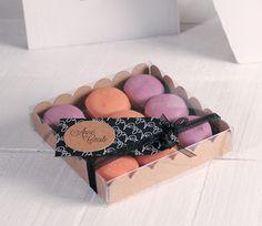 Caja pequeña para macarons