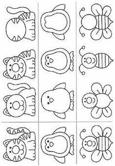 abelha,gato,pinguim,Atividades com: FIGURA FUNDO, COMPLETAR A FIGURA e COMPLETAR A SEQUÊNCIA.educação infantil,anos iniciais,coordenação motora fina