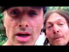 Andrew Lincoln, Norman Reedus y Steven Yeun saludan a Costa Rica - YouTube