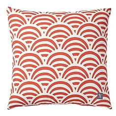 Poppy Soleil Print Outdoor Pillow from Serena & Lily - I love this slightly retro print and the fact that the fabric is outdoor-friendly. Picturing lounging on some of these while enjoying a picnic outside.
