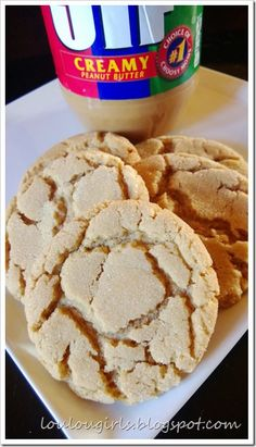 THE BEST Peanut Butter Cookies. Will have to test that out.
