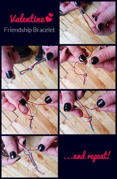 DIY Friendship Bracelets for your bestie! ;)