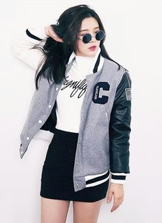 3k_Korean fashion | that jacket♡♡