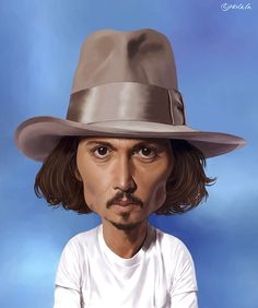 ☆ Johnny Depp :¦: Artist Mile Penava ☆