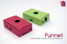 The Punnet: a Raspberry Pi case you can download and print to paper or card