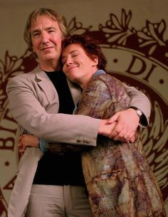 Emma Thompson pays emotional tribute to Alan Rickman Alan Rickman Love Actually, Alan Rickman Always, British Actresses, British Actors, Actors & Actresses, Emma Thompson, Alan Rickman Movies, I Look To You, Richard Curtis