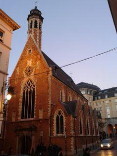 Chapelle de la Madeleine, #Brussel
