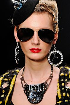 Holly Fulton sunglasses Fall 2011- Cutler and Gross aviator