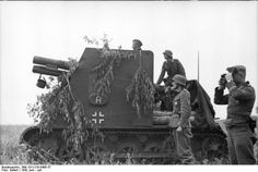sIG 33 in Russia, July 1941.