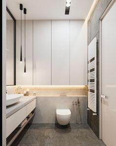 Design-project of the apartment on Saksaganskogo street