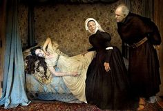 Annie Leibovitz shoots Romeo and Juliet with Coco Rocha and John Lithgow