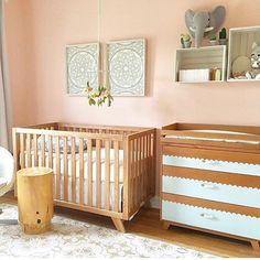 64 Best Peach Nursery Images