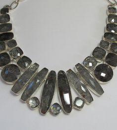 *Rutilated Quartz Gemstones Necklace