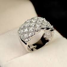 Image result for wide band womens wedding rings