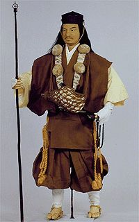 Yamabushi (itinerant priest) in regular vest