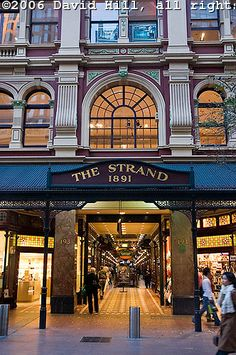 The Strand Arcade, Pitt Street Mall, Sydney