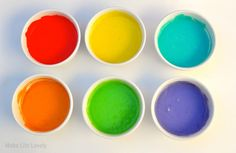 Upcycled Baby Food Jars: Rainbow Cake in A Jar | Make Life Lovely