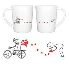 BOLDLOFT All My Love for You Couples Mugs Set Anniversary Gifts for Him Couples Gifts Boyfriend Gifts Husband Gifts Fiance Gifts for Him Dating Gifts Wedding Gifts Engagement Gifts -- Continue to the product at the image link. (This is an affiliate link) Valentines Day For Boyfriend, Cute Boyfriend Gifts, Valentines Day Couple, Christmas Gifts For Boyfriend, Valentines Day Gifts For Him, Couples Coffee Mugs, Couple Mugs, Couple Gifts, Gifts For Fiance