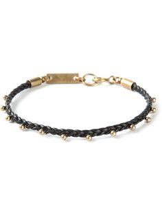 ISABEL MARANT braided bracelet - £67 on Vein - getvein.com