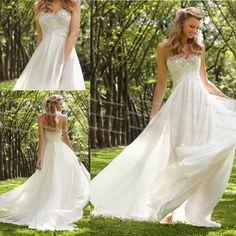 vestidos de novia playa - Buscar con Google