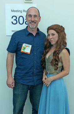 Margaery Tyrell - And, we end my second day of Comic-Con with a picture of a Maergery Tyrell (Game of Thrones) cosplayer.