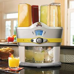 There's no need to tend bar when you got the Margaritaville Mixed Drink Machine. Your guests can enjoy the cocktail of their choice from 48 different options with just the touch of a button…no tipping required.