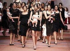 Dolce & Gabbana <3 this picture from La Famiglia