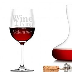 Our beautifully personalised wine glasses are the perfect for all special celebrations. Personalized Wine Glasses, Wine Glass Set, Wine O Clock, Shot Glasses, Glass Collection, Be My Valentine, Red Wine, Barware, Alcoholic Drinks