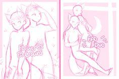 Yukine and Azusa (both)