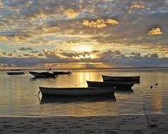 Mauritius Sunset, by Tessa Fairey