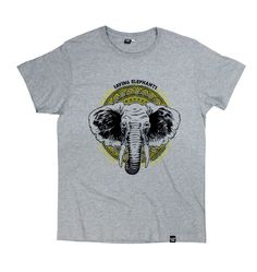 T-shirt Elephants by COONTAK | Shop on: https://grafitee.us/shop/t-shirts/67-t-shirt-elephants-.html | #tshirt #fashion #clothing #apparel #grafitee #shopindie