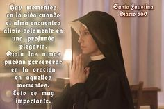 Diario Santa Faustina, Prayers, Life