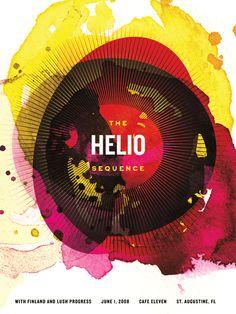 Helio Sequence by Karen Kurycki, via Behance #graphic #design