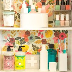 Check out Maxwell Ryan's tips to perk up your medicine cabinet. In just a few steps you can take this practical space from drab to fab.