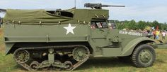 Half-track Personnel Carrier M3