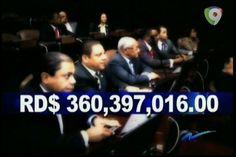 Nuria Piera presenta la pretensiones de aumento de sueldo de los senadores y los privilegios luego de su sueldo base