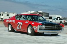 sport - hot rod rods classic muscle 1969 Ford Torino nascar race racing f . Nascar Race Cars, Old Race Cars, Classic Race Cars, Ford Torino, Drag Racing, Auto Racing, Ford Fairlane, Vintage Race Car, Ford Motor Company